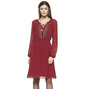 ALTUZARRA X TARGET ruby hill peasant dress